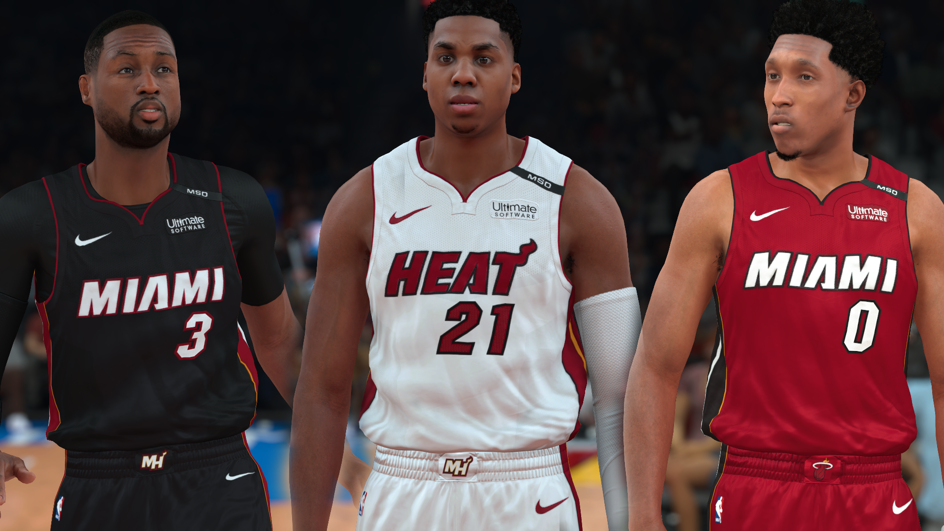 Miami Heat Jersey with MSD Patch (pinoy21)