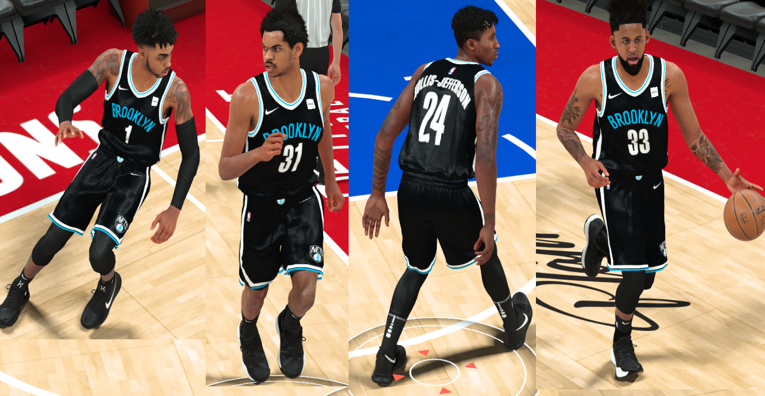 Brooklyn Nets Fictional Jersey