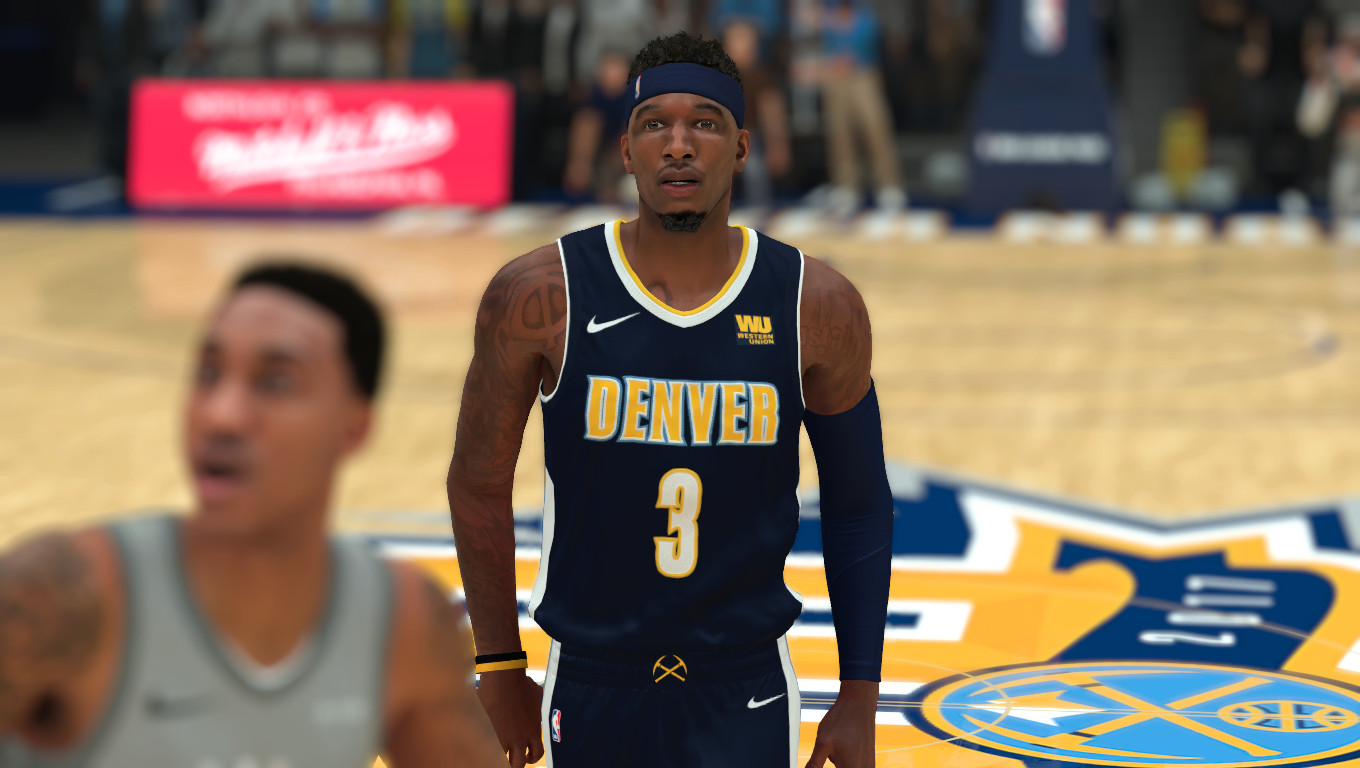 Torrey Craig Face (With Tattoos)