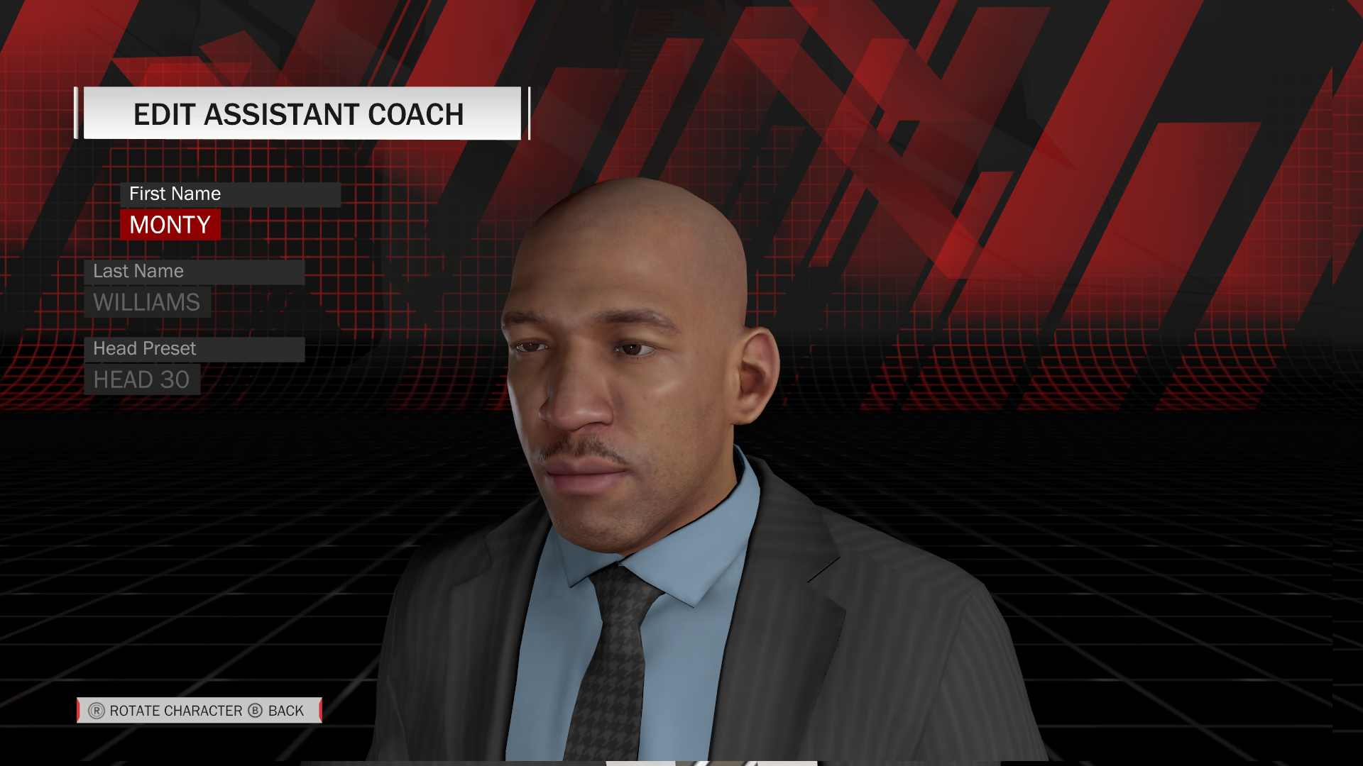 Monty Williams Assistant Coach Face