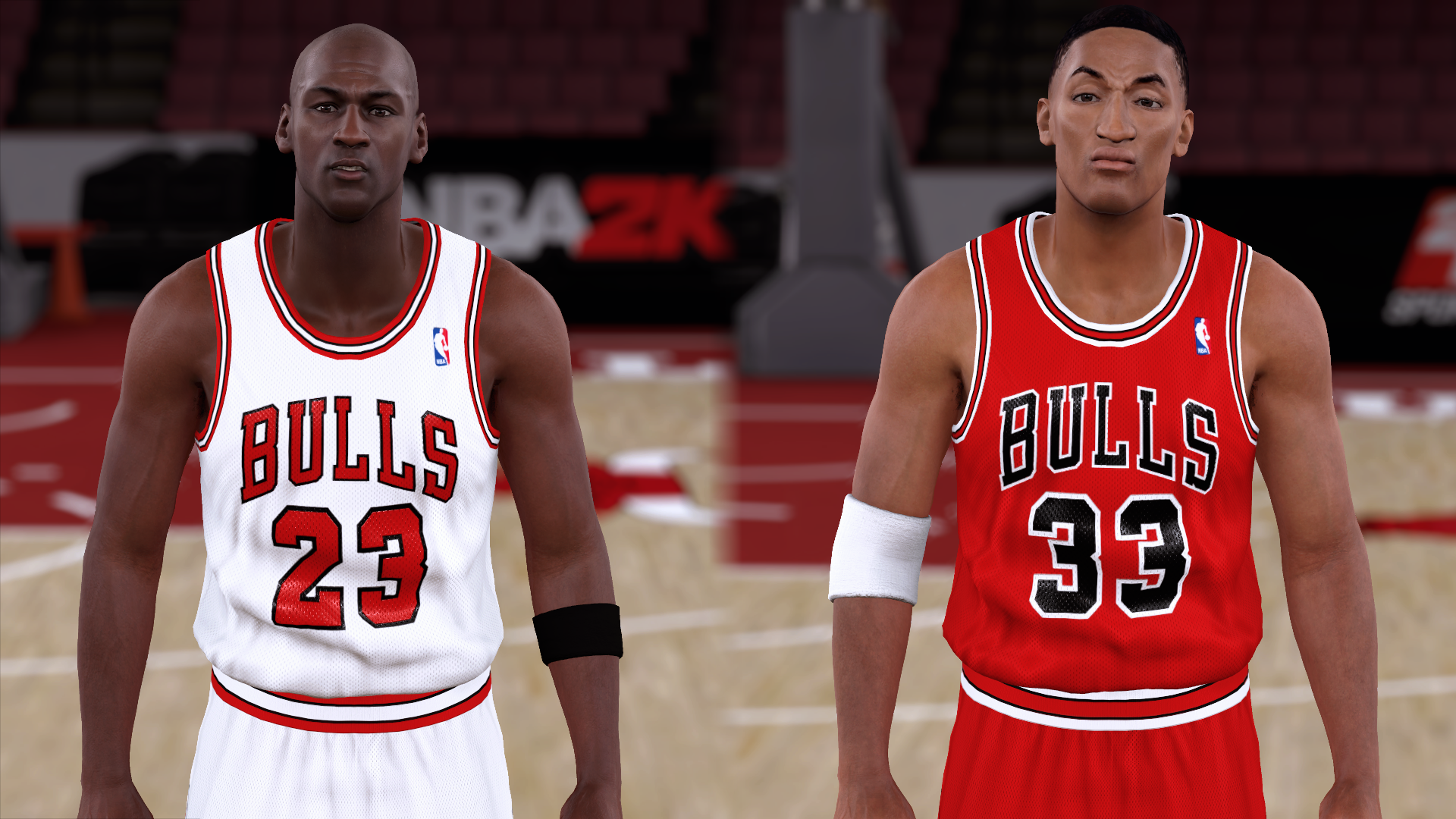 1990-1991 Bulls Jerseys - PeacemanNOT