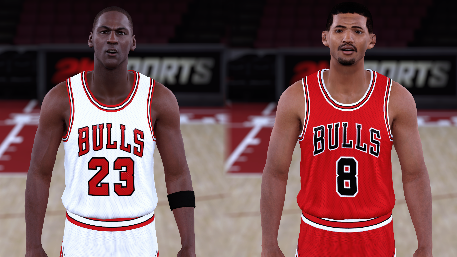 1985-1986 Bulls Jerseys - PeacemanNOT
