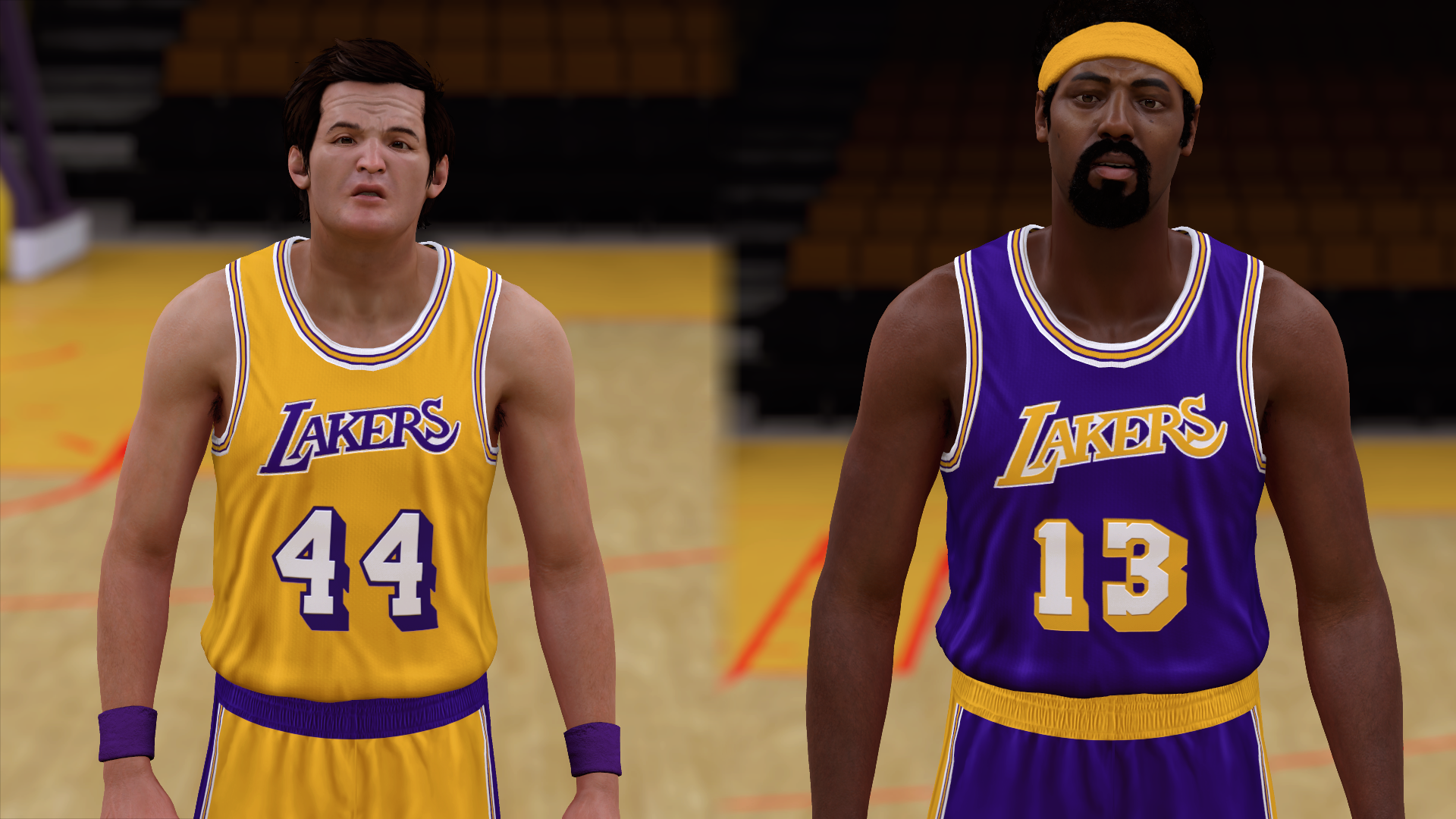 1971-1972 Lakers Jerseys - PeacemanNOT