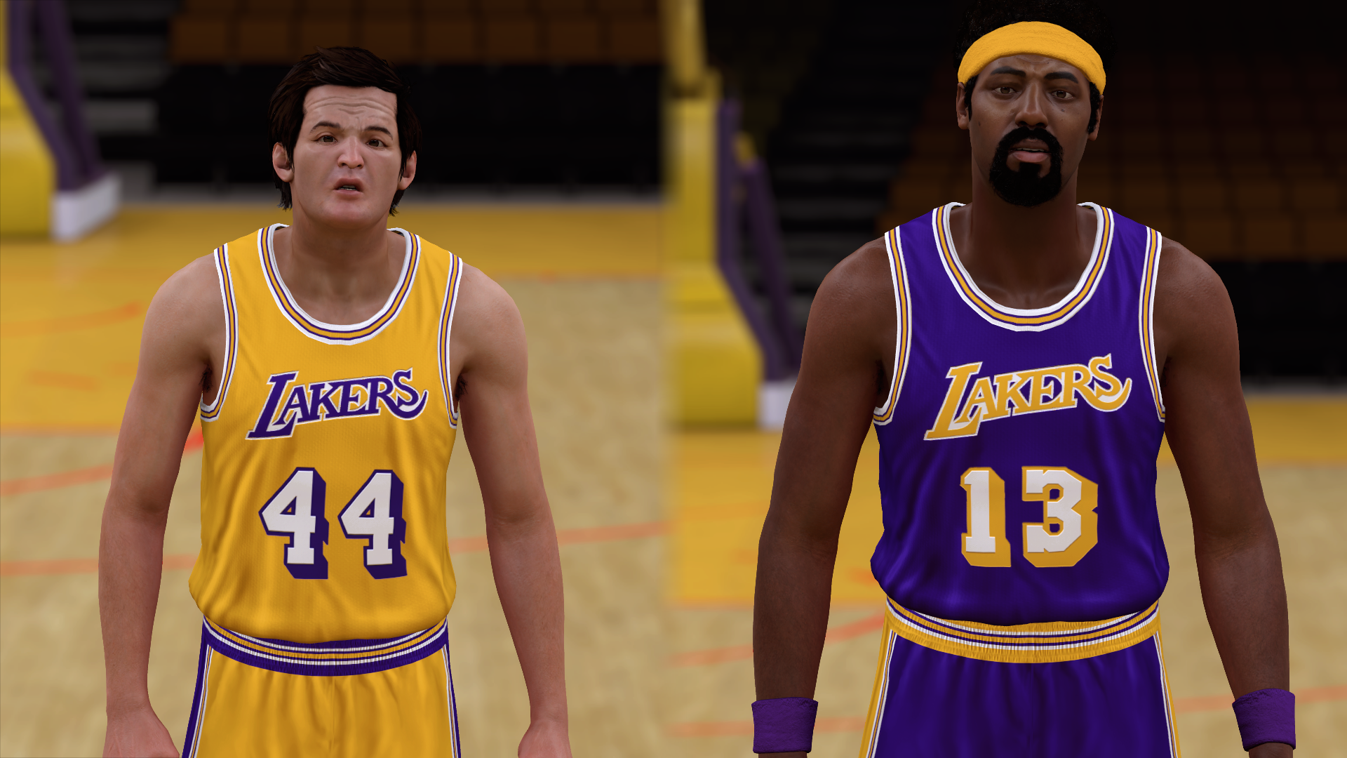 1970-1971 Lakers Jerseys - PeacemanNOT