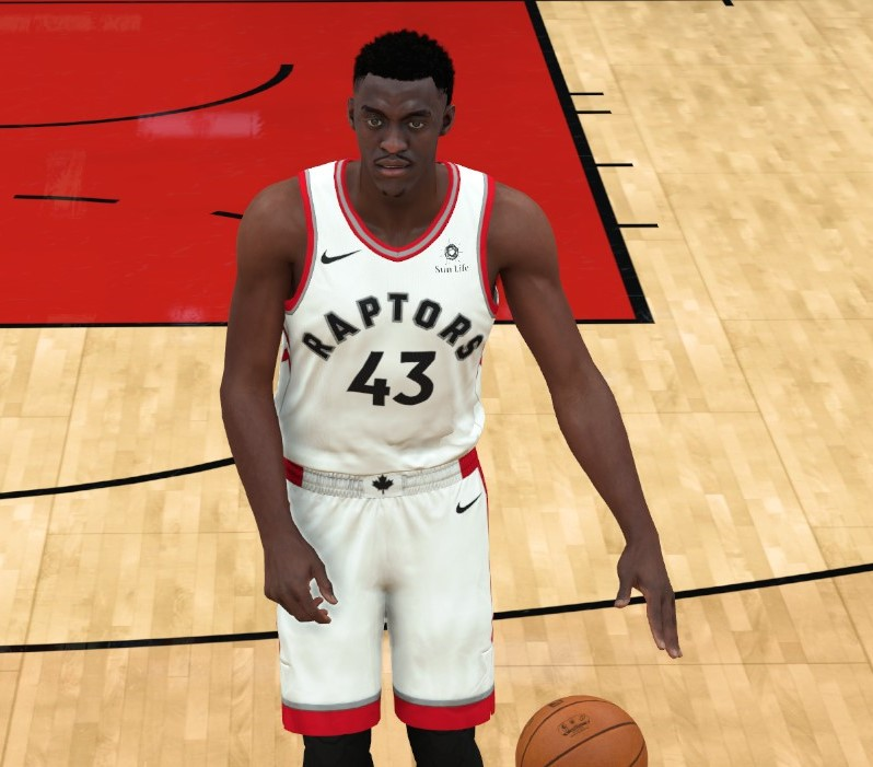 Pascal Siakam Face (Mini Fro)