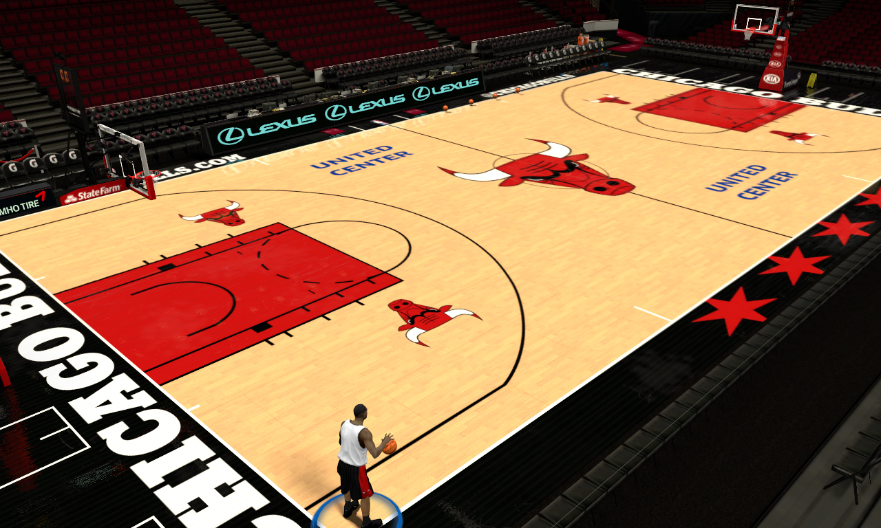 2018 United Center (Chicago Bulls Court)