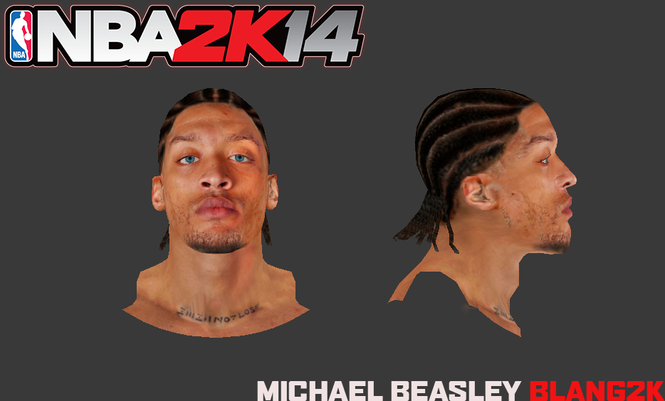 Michael Beasley Face