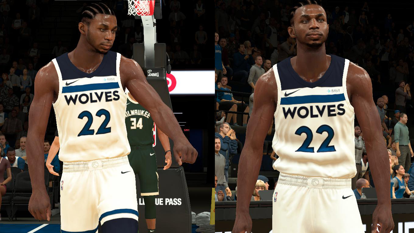 Andrew Wiggins Face & Model