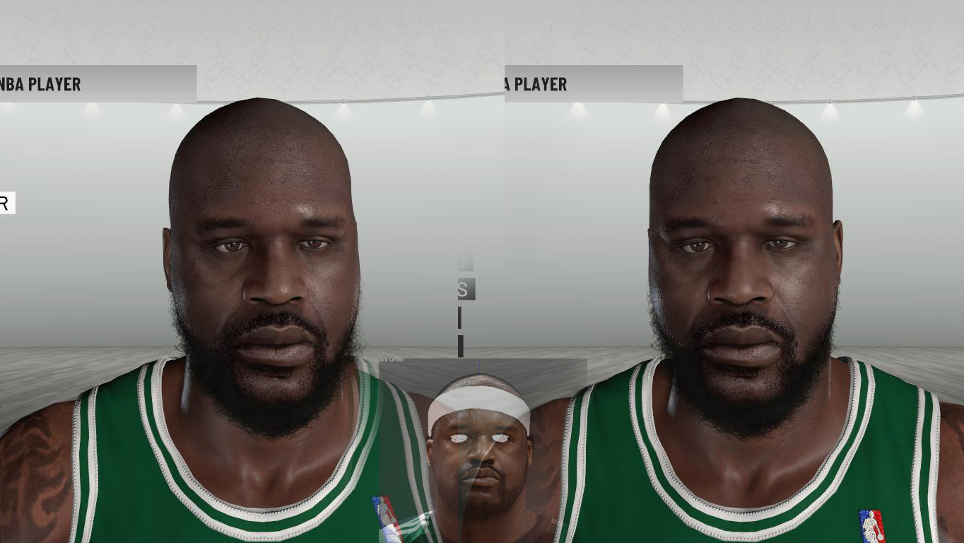2010-2011 Shaquille O'Neal Face