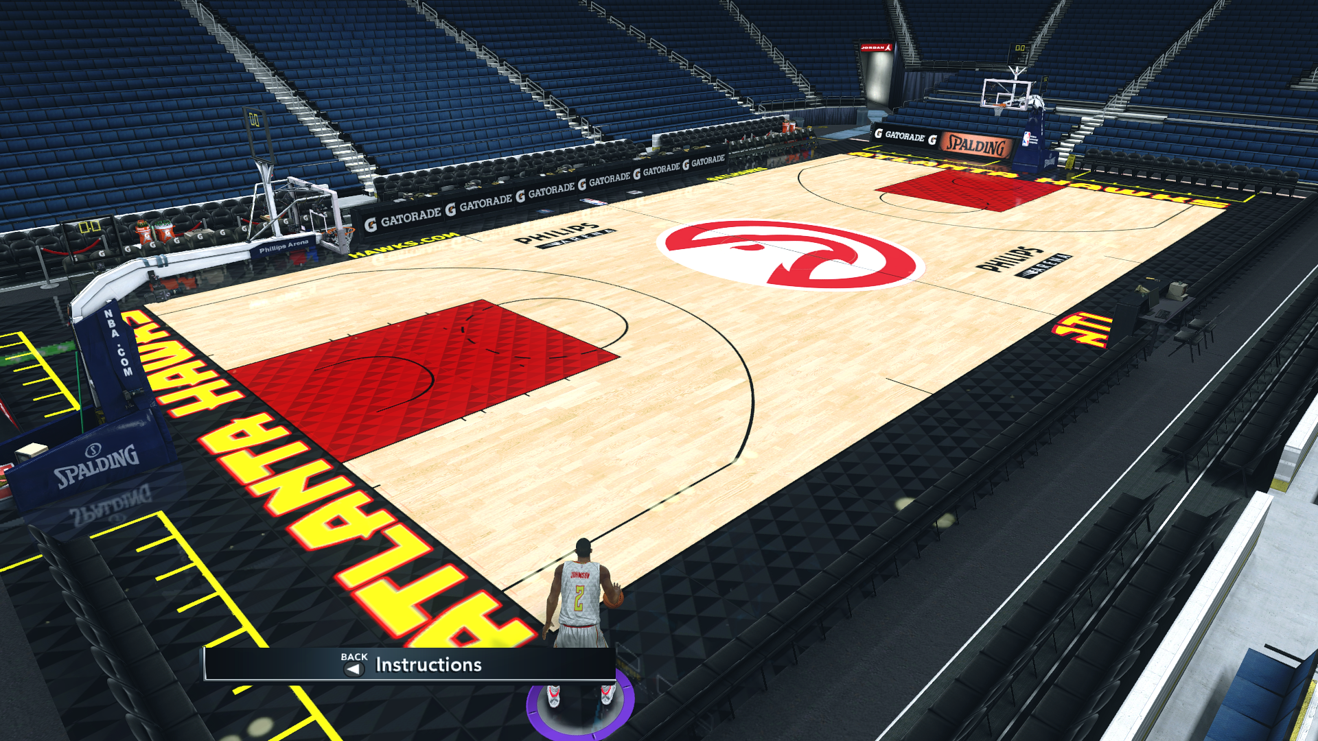 Atlanta Hawks 2018-19 Court
