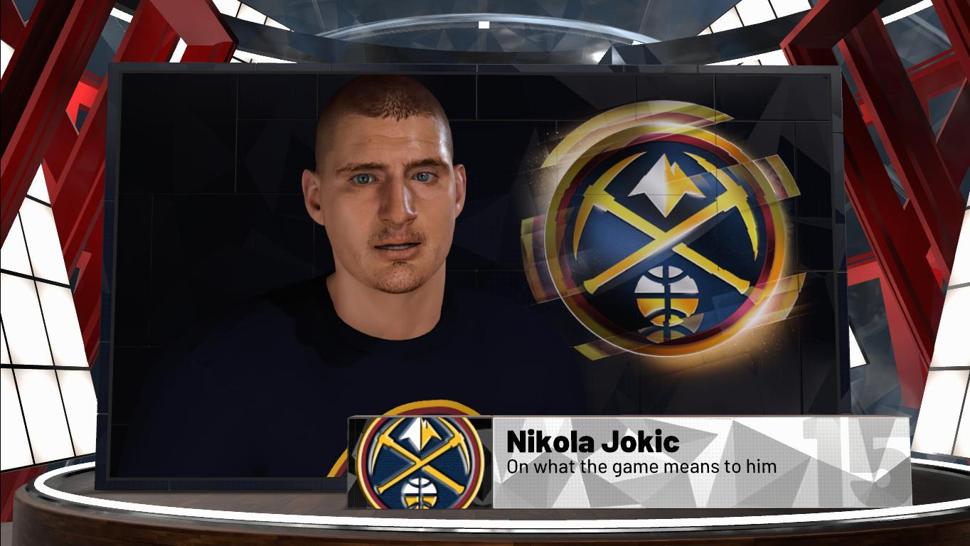 Nikola Jokic Face & Model
