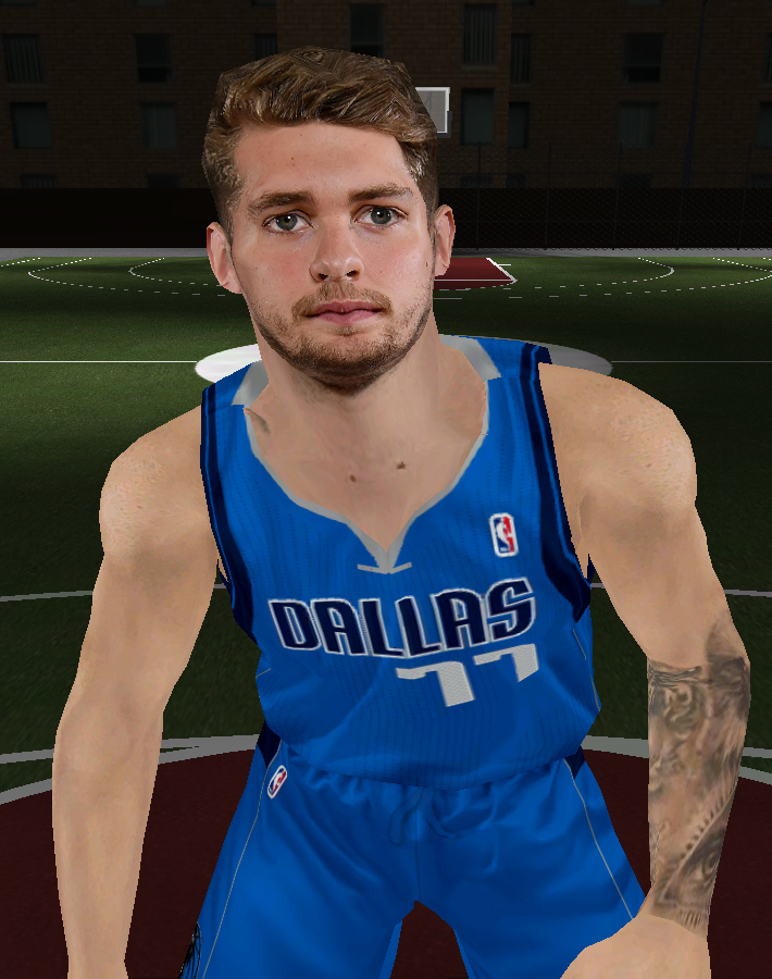 Luka Doncic Face