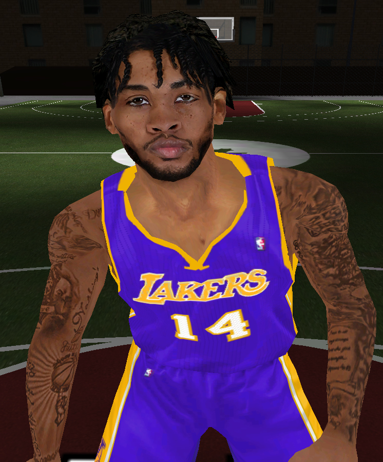Brandon Ingram Face