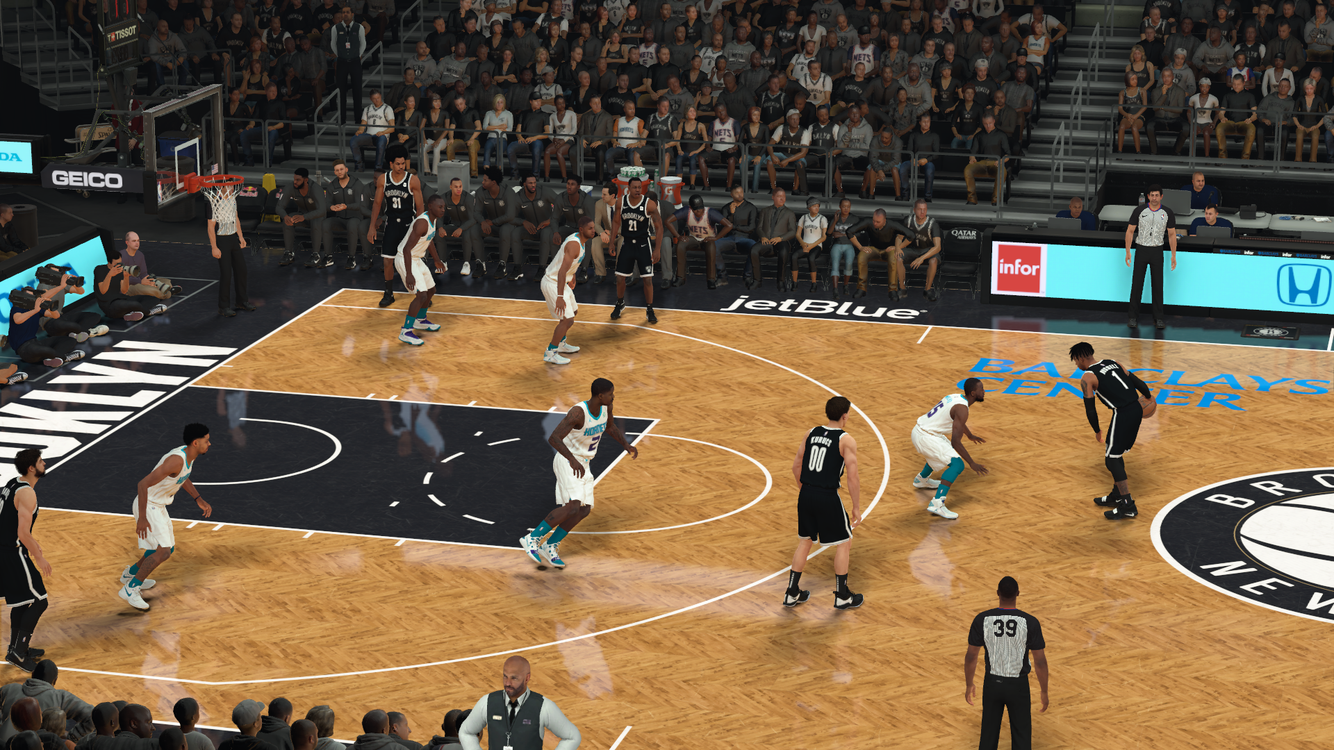 Brooklyn Nets Courts Pack