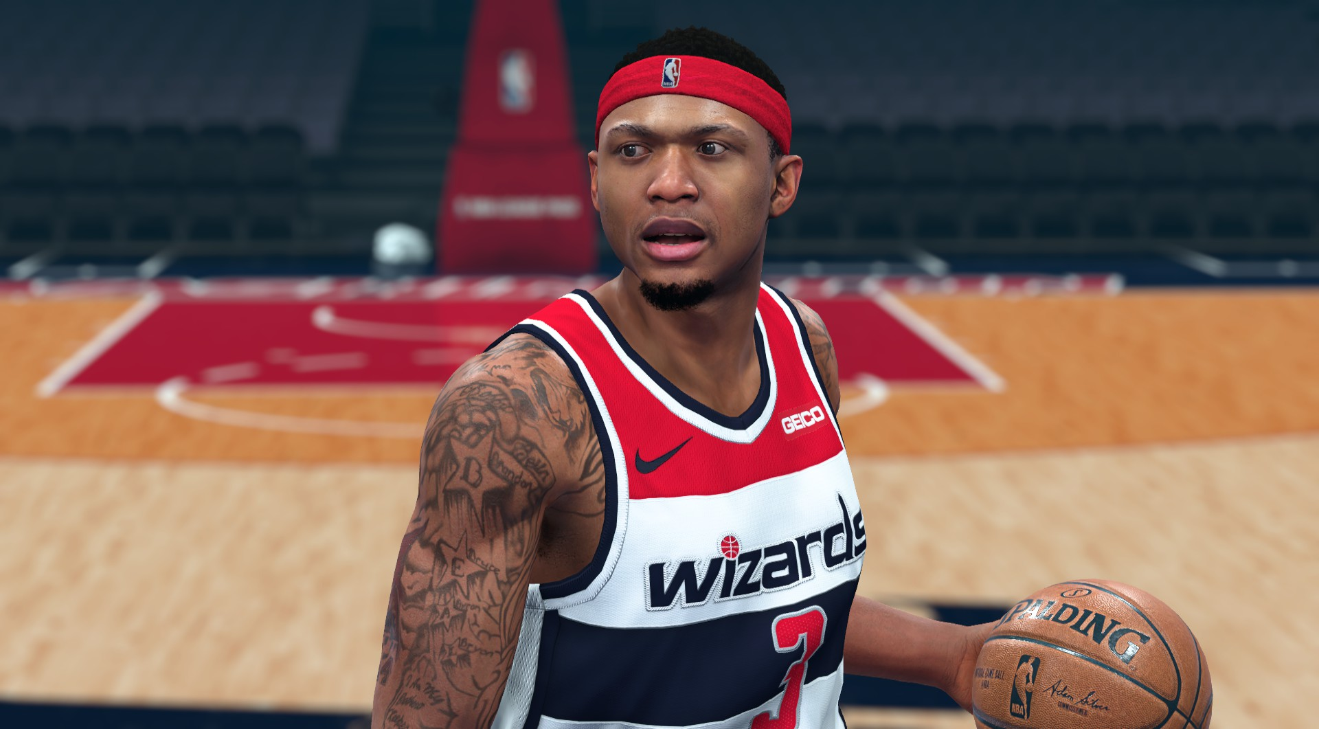 Bradley Beal Face by JH13000
