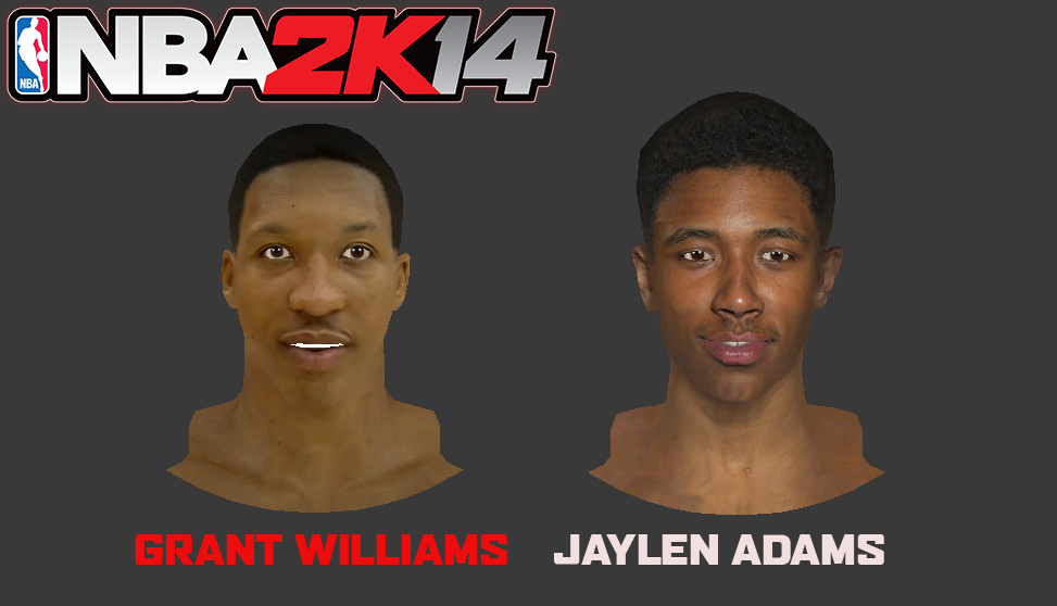 Grant Williams & Jaylen Adams Faces