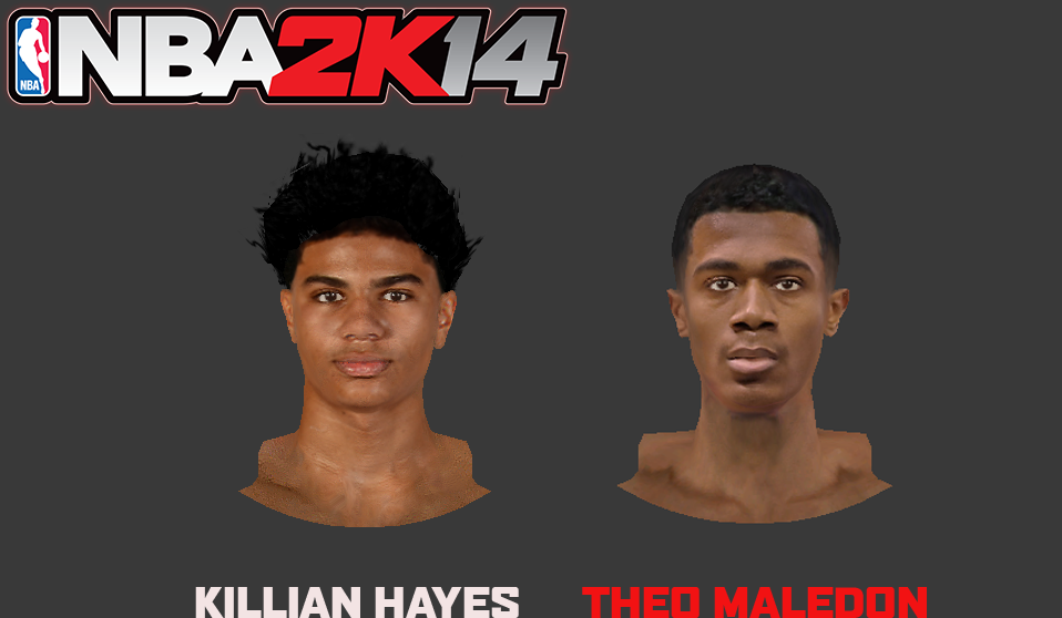 Theo Maledon & Killian Hayes Faces