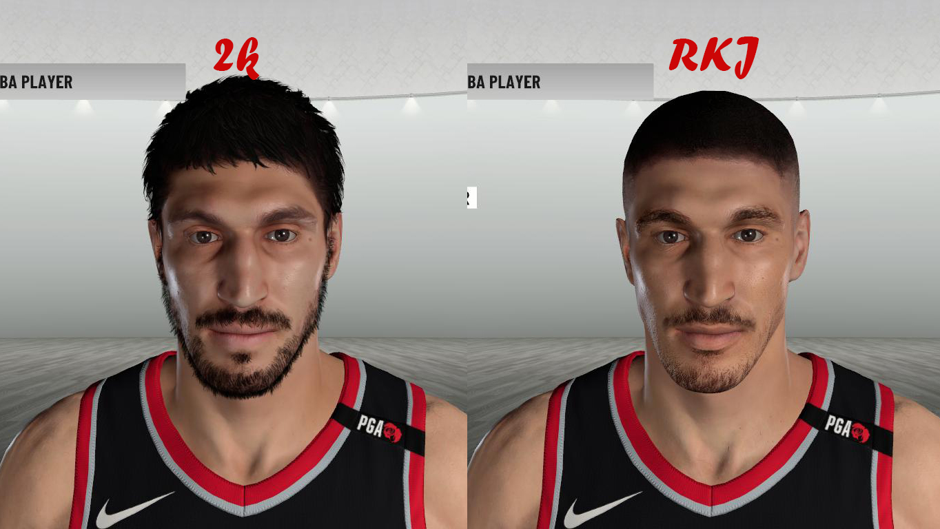 Enes Kanter Face