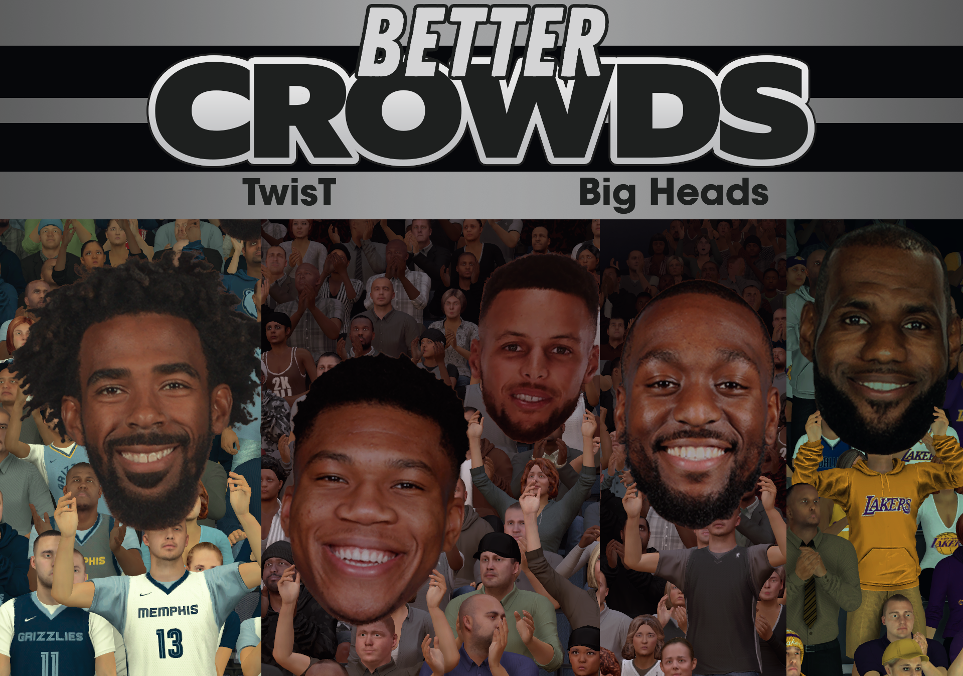 Crowd Update - Big Heads