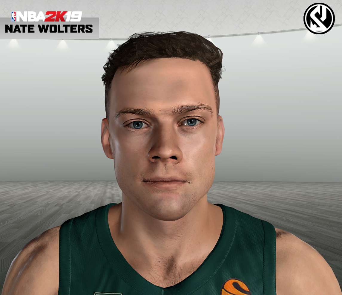 Nate Wolters Face