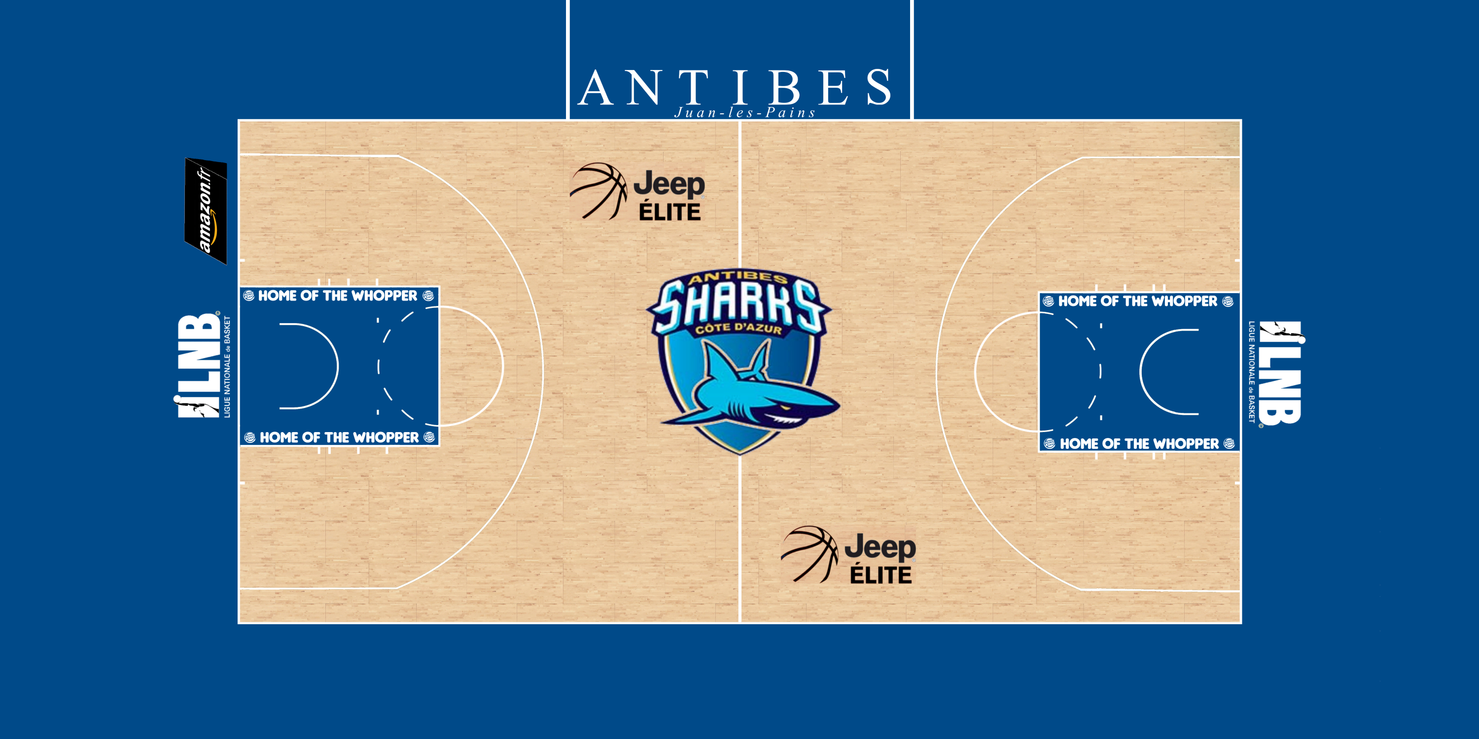 Antibes Sharks Court (French Basketball League)