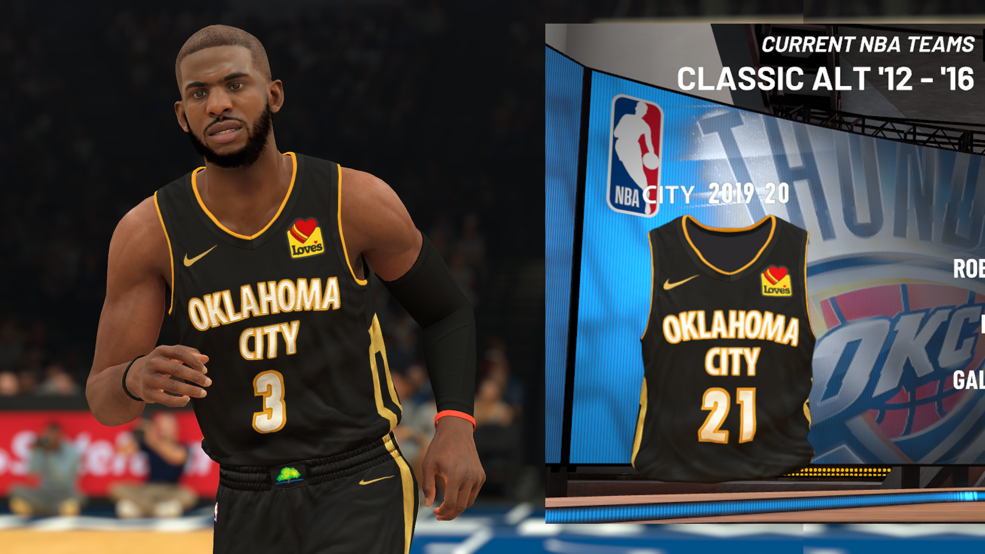 Oklahoma City Thunder 2019-20 City Edition Jersey (pinoy21)