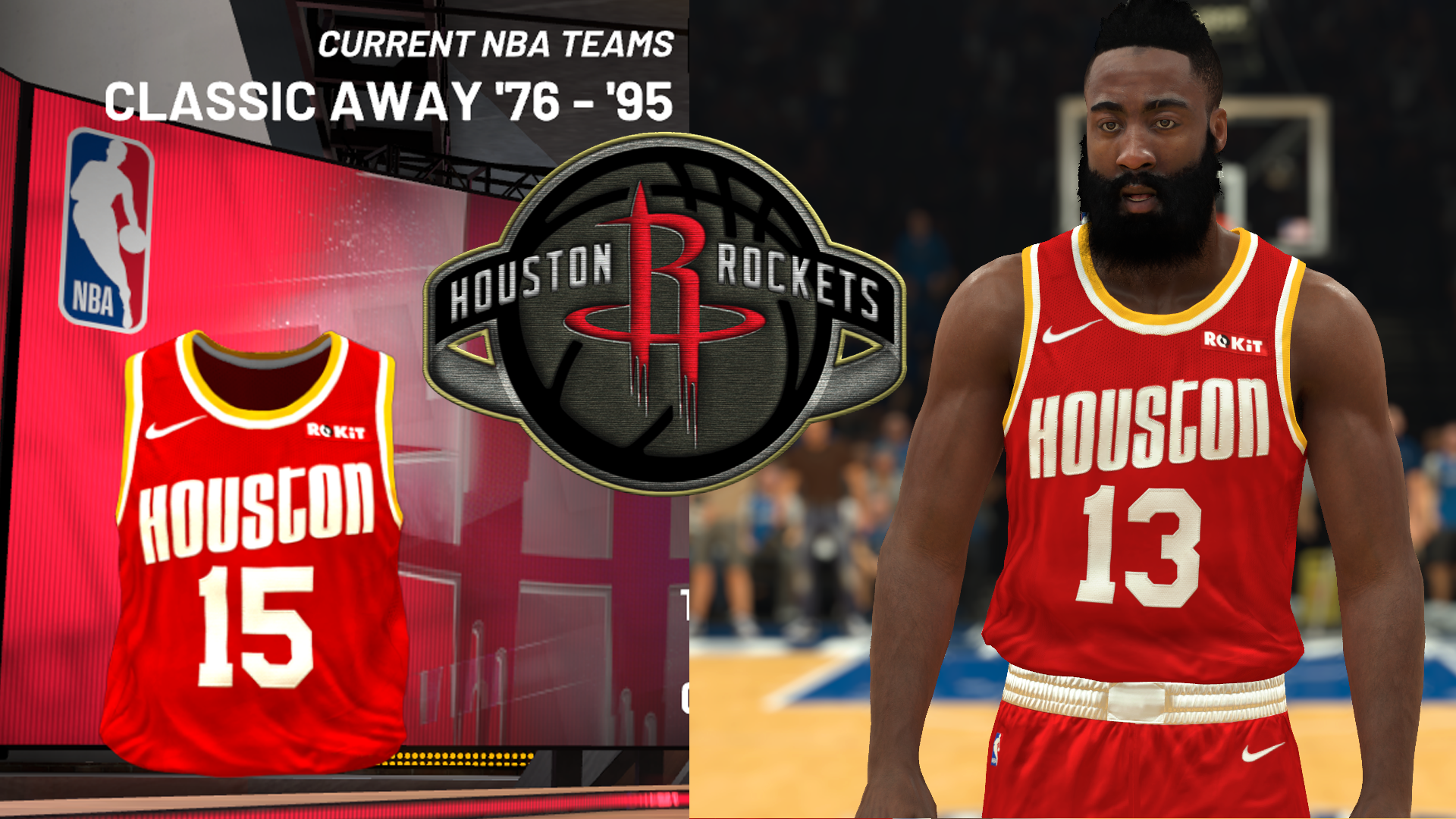 Houston Rockets 2020 Classic Edition Jersey (pinoy21)