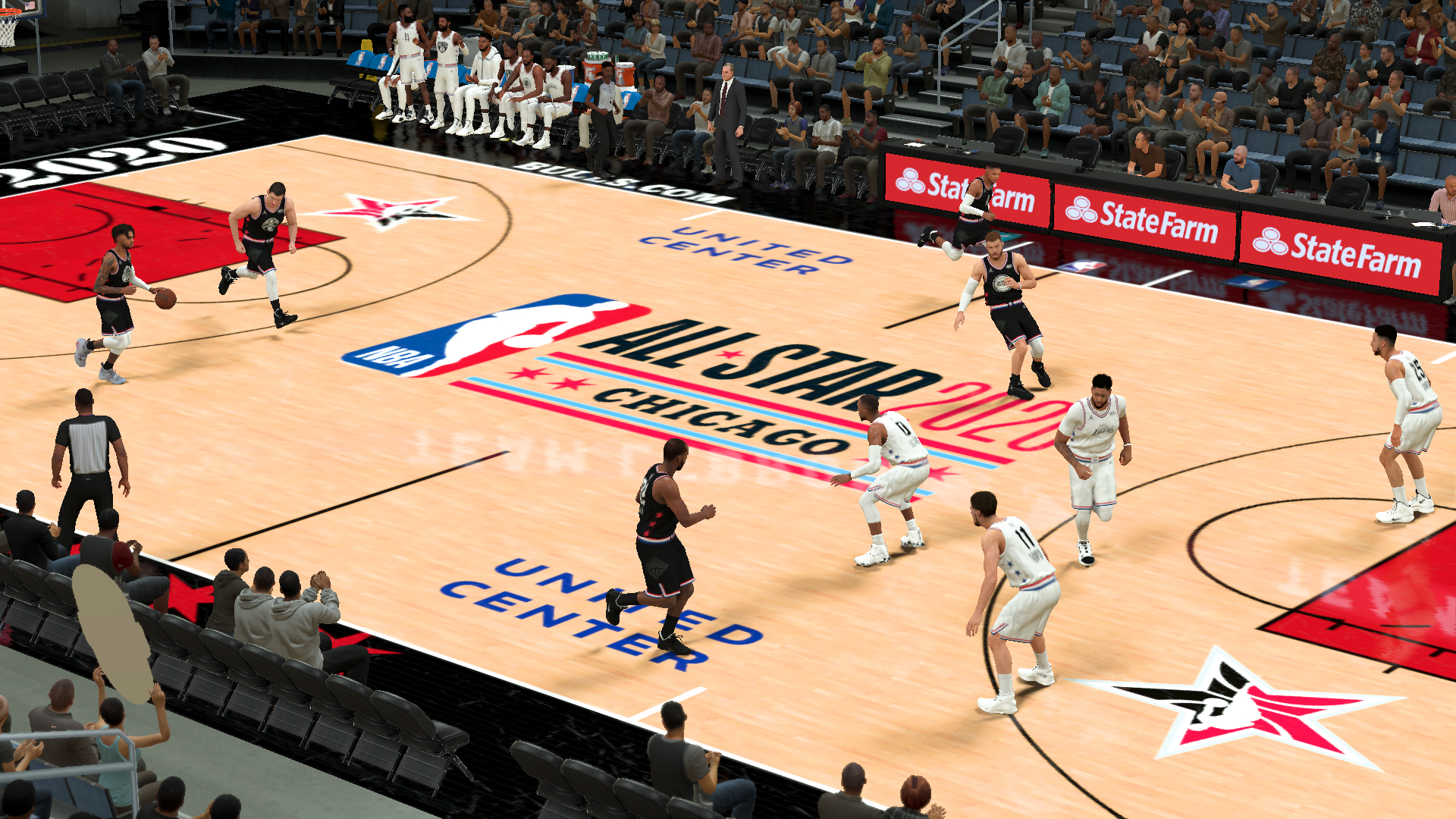 Fictional 2020 NBA All-Star Chicago Court