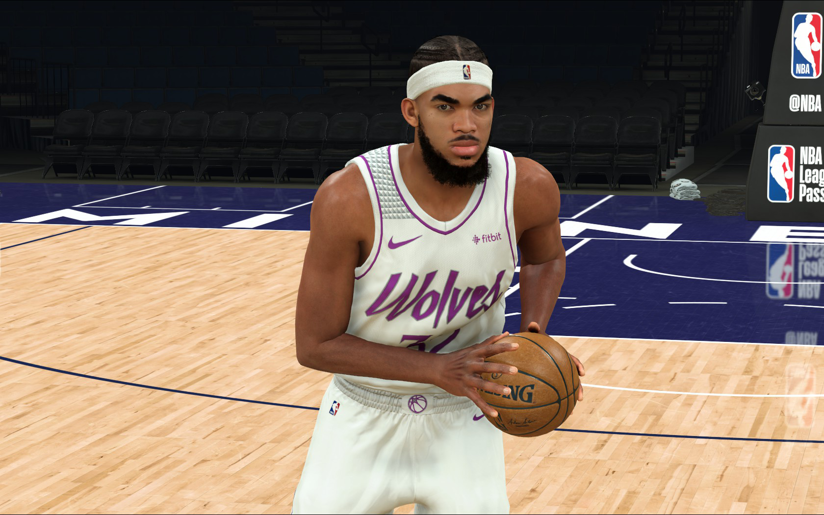 Karl-Anthony Towns Face