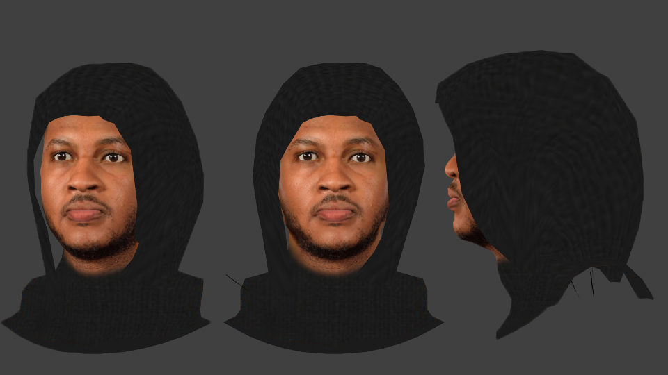 Hoodie Carmelo Anthony Face