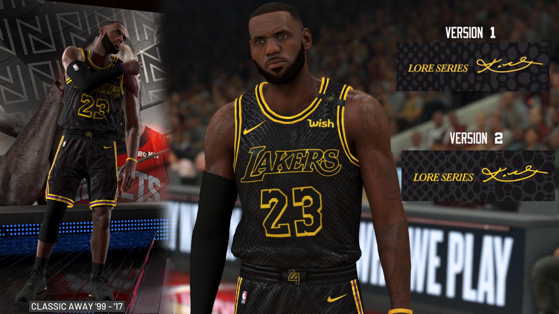 NLSC Forum • Downloads - Lakers Black Mamba City Edition ...