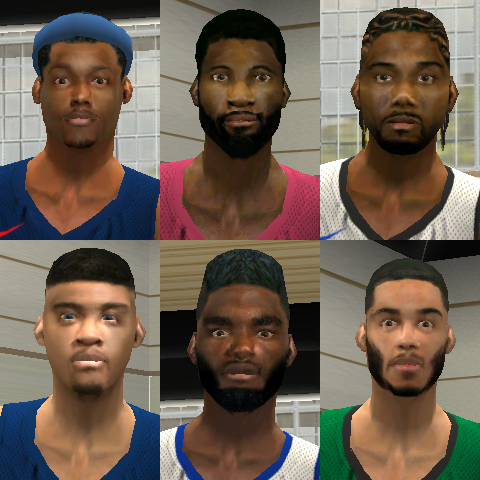Face Fix for 2019/2020 Season Mod