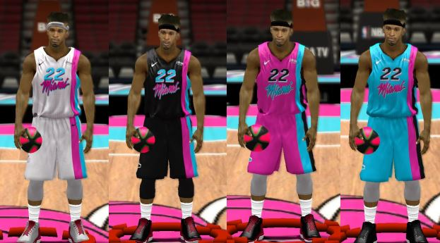 "Miami Heat ""Floridian Vice"" Jerseys"