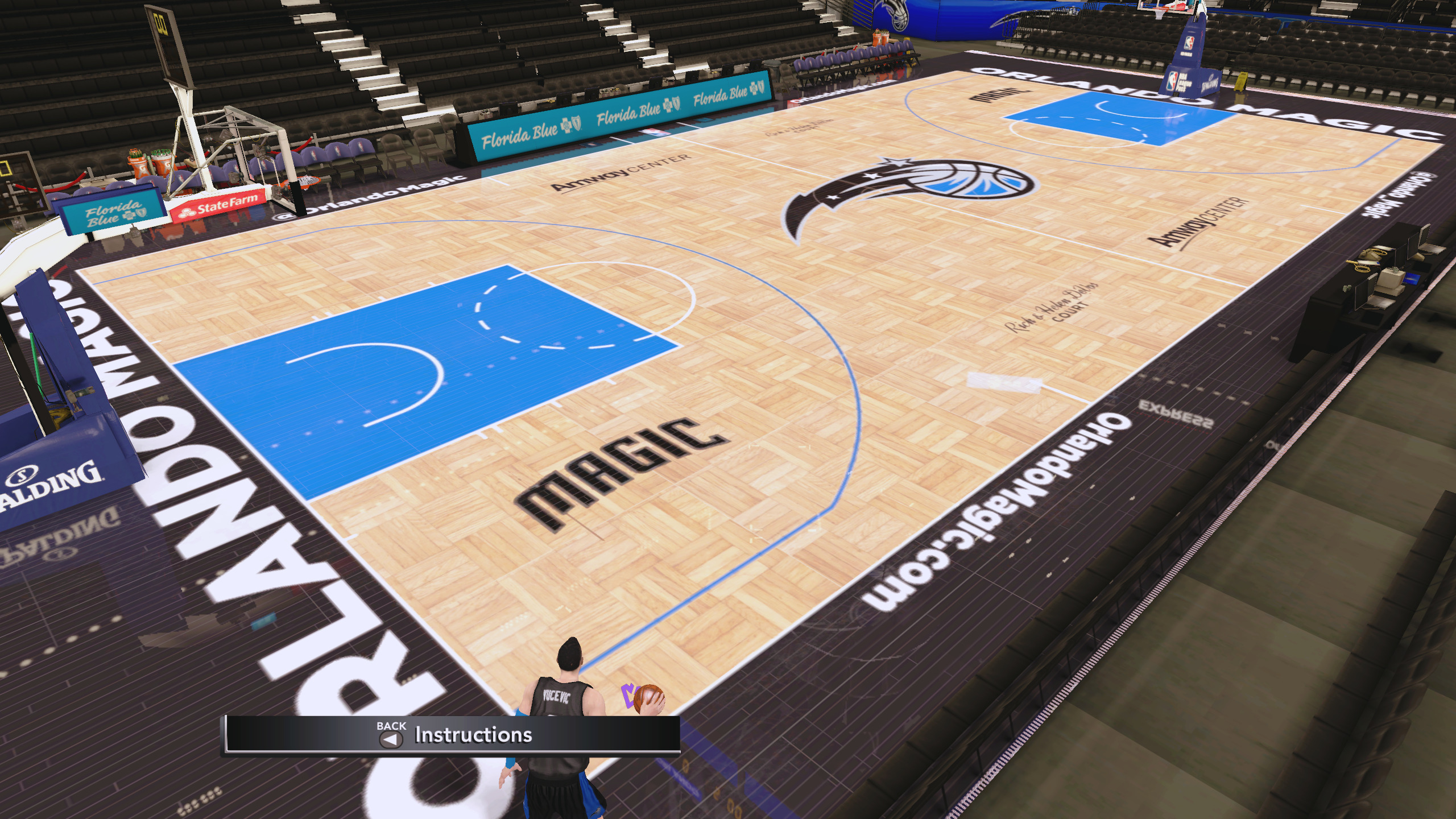 Orlando Magic 2019-20 Court