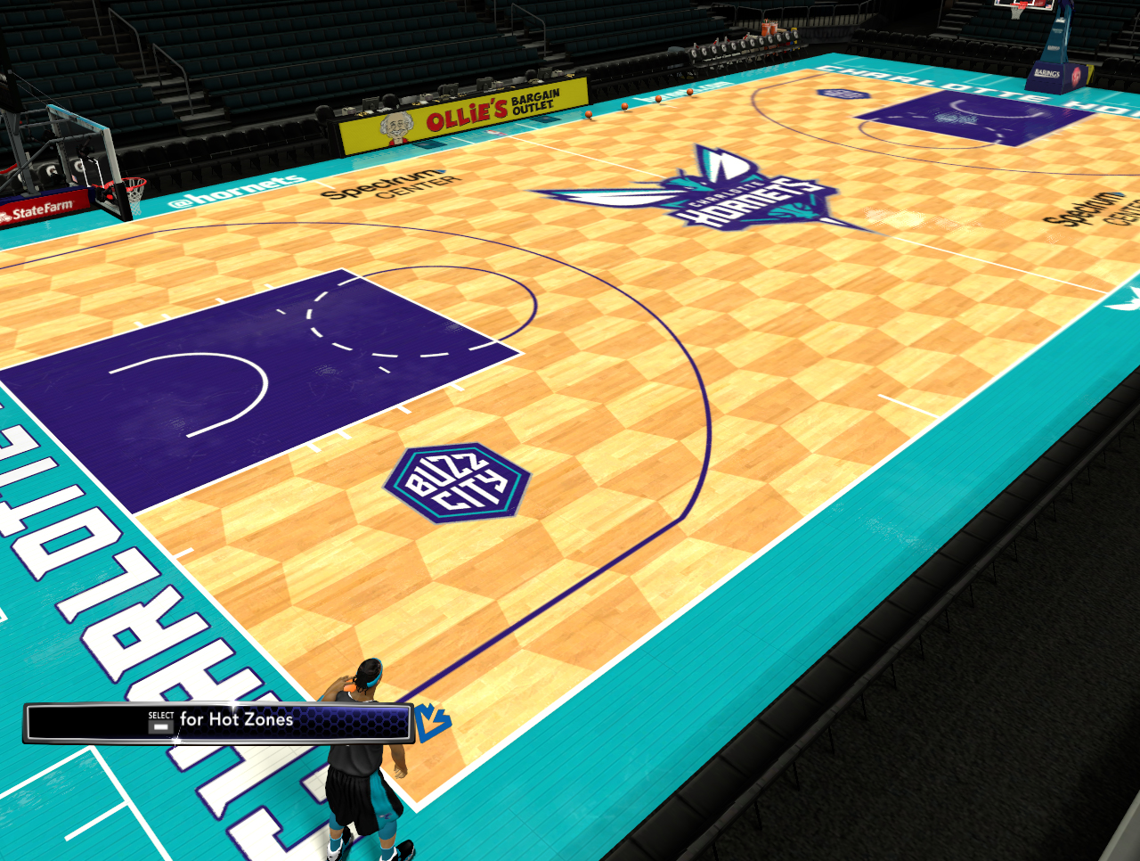 2019/20 Spectrum Center (Charlotte Hornets Court)