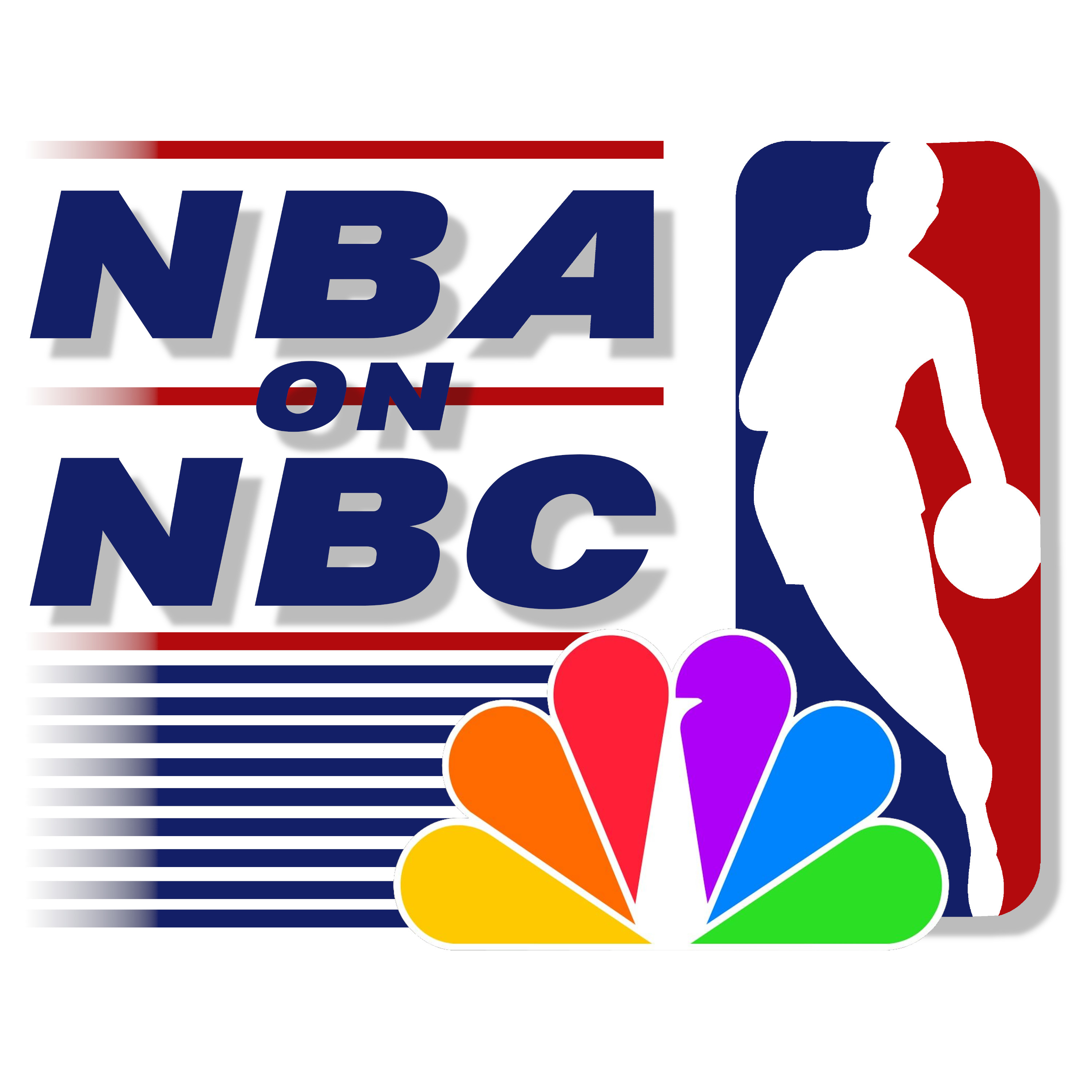 NBA on NBC (90s) Wipe, Studio, and Texture
