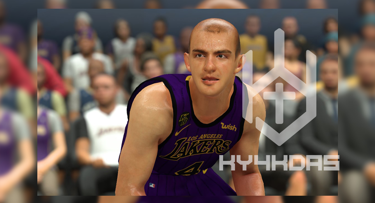 Alex Caruso Face