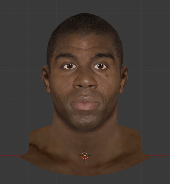 Magic Johnson Face