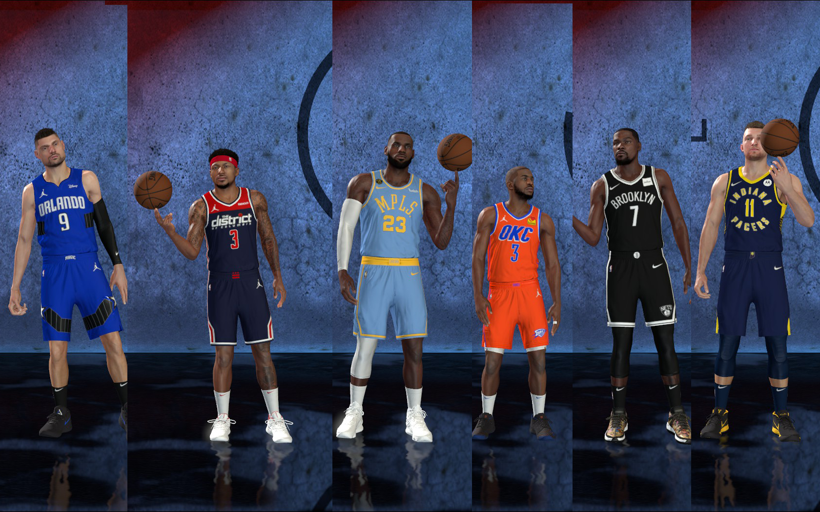 Updated Jerseys Pack 2