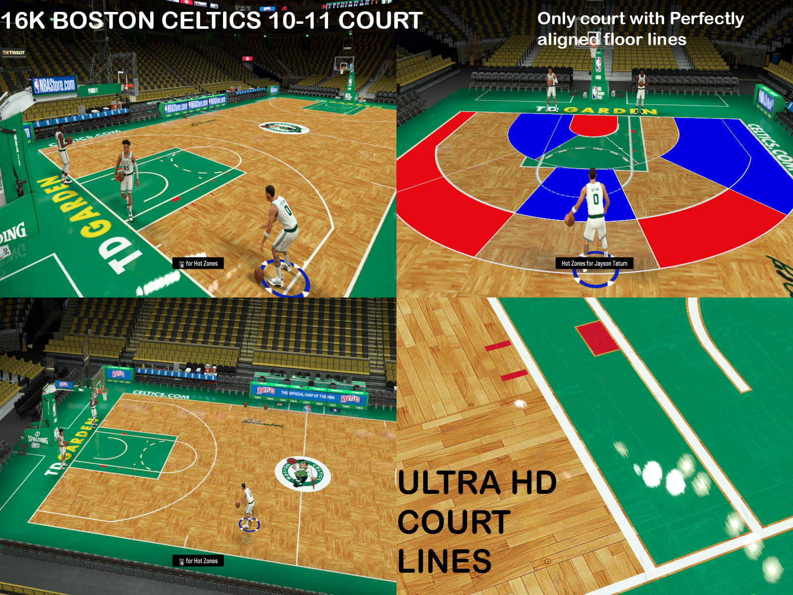Boston Celtics 2010-11 Court 16K by Lethanos