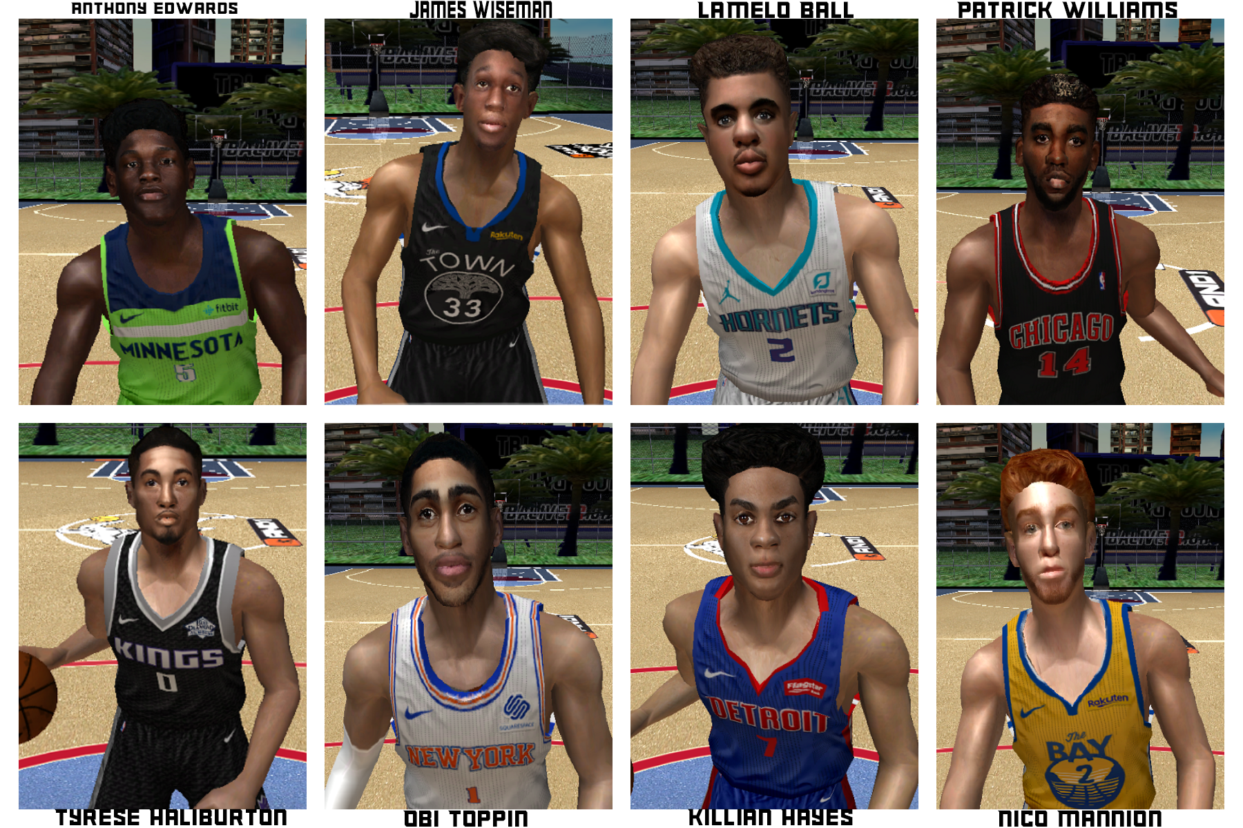 2020 NBA Draft Faces