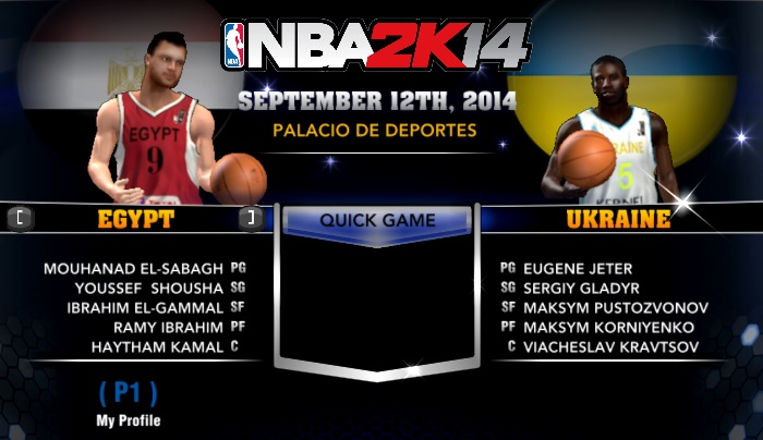 NLSC Forum • Downloads - FIBA 2K14 Current MC Roster and