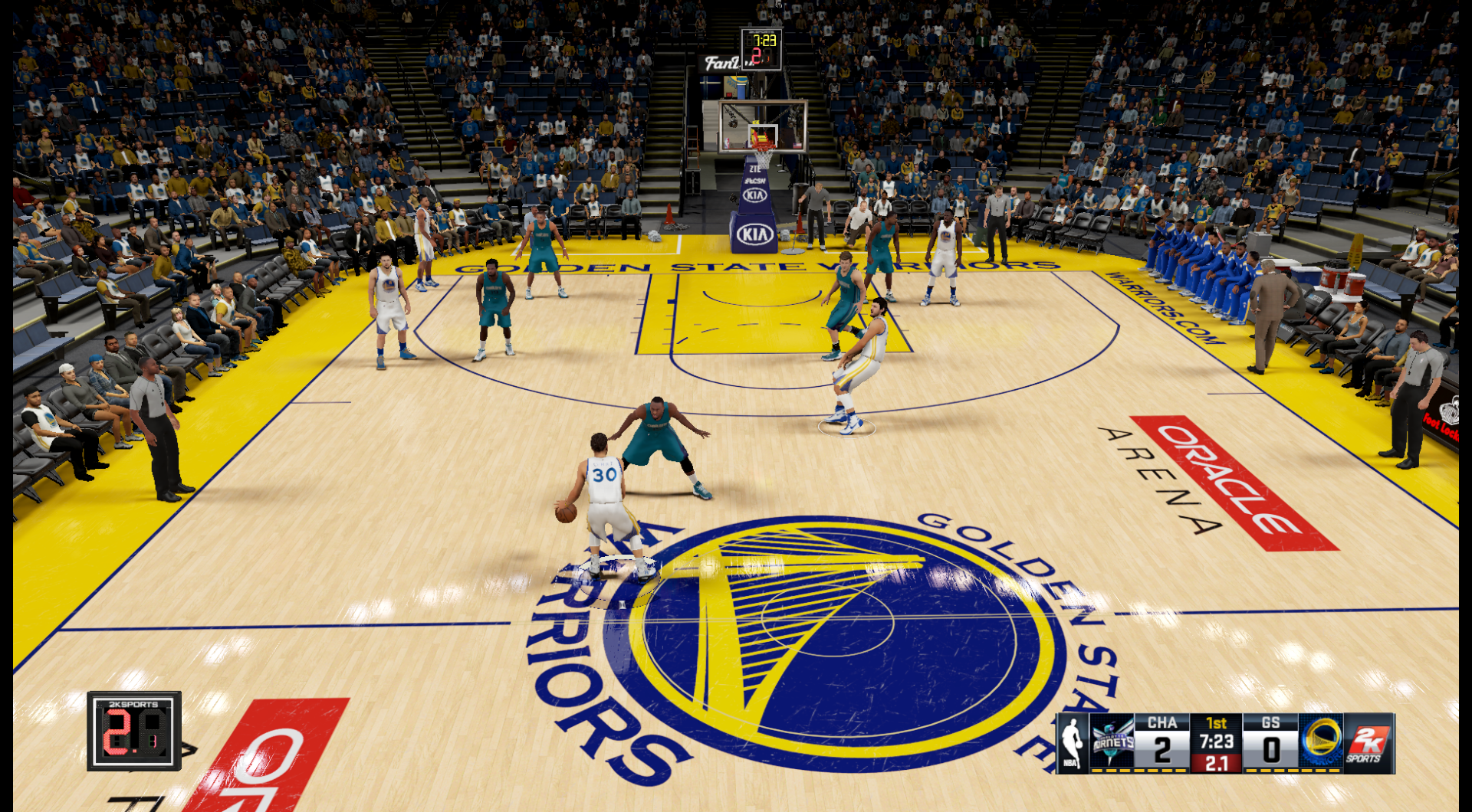 5c4faf790 This patch updates the Golden State Warriors  court. Also includes  The  City  court.