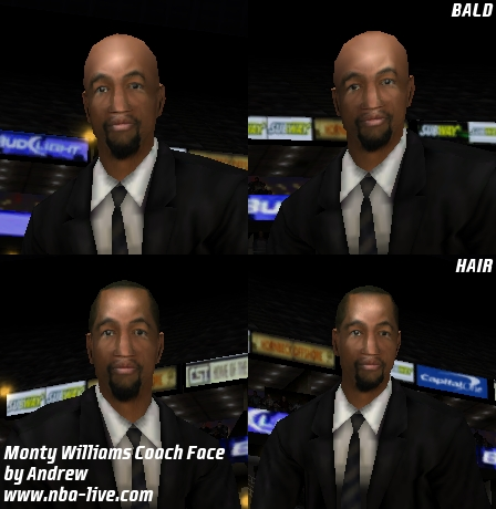Monty Williams Coach Face Patch
