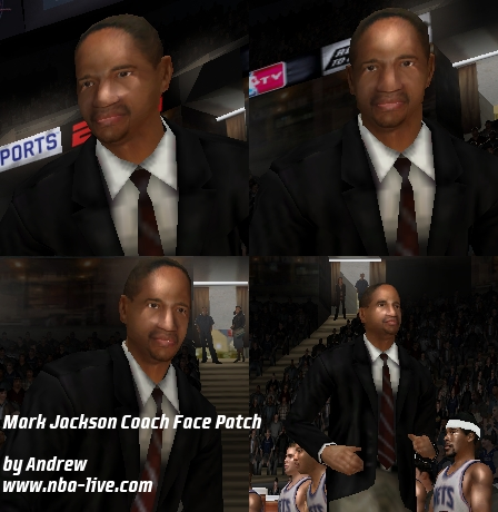 Mark Jackson Coach Face Patch