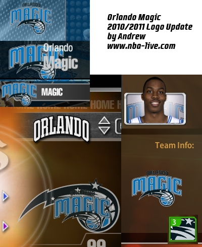Orlando Magic 2010/2011 Logo Patch