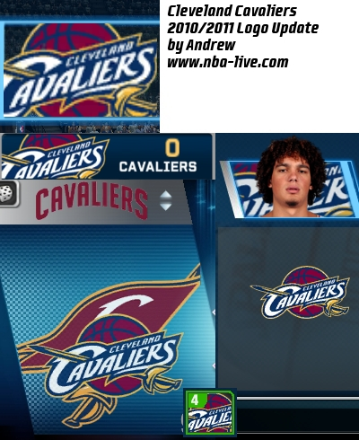 Cleveland Cavaliers 2010/2011 Logo Patch