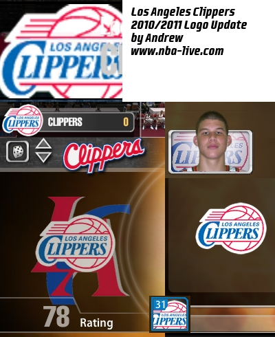 Los Angeles Clippers 2010/2011 Logo Patch