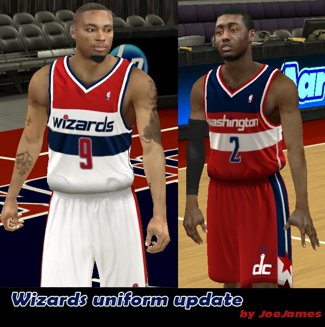 Washington Wizards Uniforms
