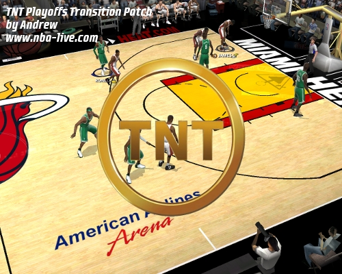 TNT Playoffs Transition Patch 2005